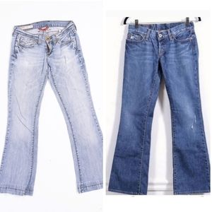 Lucky Brand Bootcut Jeans Lot of 2